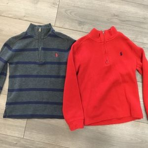 Boys Polo Pullover Bundle